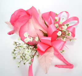 Single Rose Corsage from Dallas Sympathy Florist in Dallas, TX