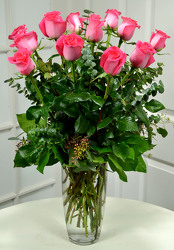 24 Elegant Pink                           from Dallas Sympathy Florist in Dallas, TX