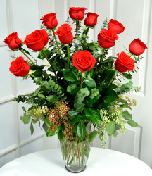 Our Best Long Stem Red Roses  from Dallas Sympathy Florist in Dallas, TX