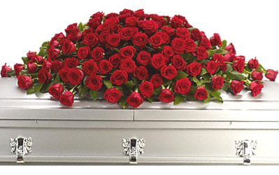 Greatest Love Casket Design from Dallas Sympathy Florist in Dallas, TX