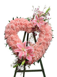 Our Love Eternal Heart from Dallas Sympathy Florist in Dallas, TX