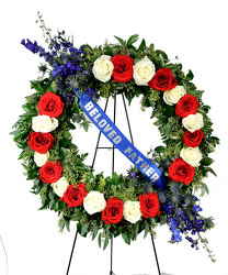 Patriotic Salute from Dallas Sympathy Florist in Dallas, TX