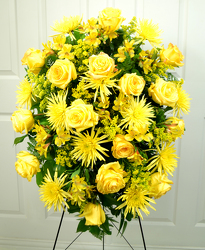 Golden Tribute from Dallas Sympathy Florist in Dallas, TX