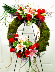 Cherished Wreath from Dallas Sympathy Florist in Dallas, TX