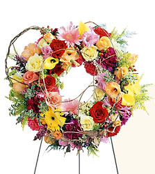 Ring of Friendship Wreath from Dallas Sympathy Florist in Dallas, TX