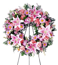 Loving Remembrance Wreath from Dallas Sympathy Florist in Dallas, TX