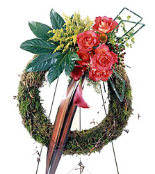 Never-ending Love Wreath from Dallas Sympathy Florist in Dallas, TX