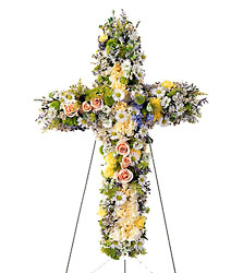 Angel's Cross from Dallas Sympathy Florist in Dallas, TX