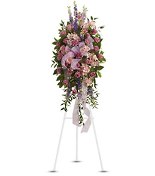 Finest Farewell Spray from Dallas Sympathy Florist in Dallas, TX